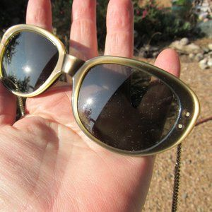 1950s Brown Funky Sunglasses